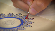 Stock Video Footage of Islamic art - Calligraphy