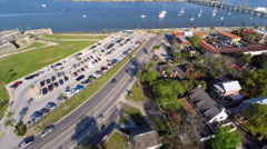Stock Video Footage of St. Augustine aerial video