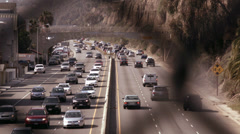 Highway Santa Monica - stock footage
