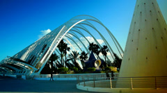 The City of Arts and Sciences Stock Footage