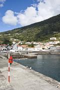 Village of Ribeiras, Pico, Azores - stock photo