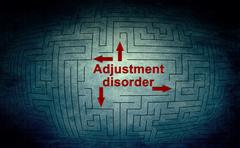 Adjustment disorder Stock Illustration