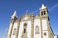 Stock Photo of Church of Salvador, Alcacovas, Portugal