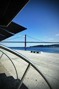 Tagus riverside - stock photo