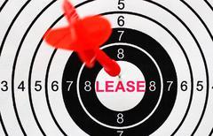 Lease target Stock Photos