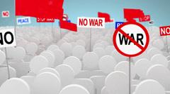 No war Stock Footage