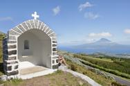 Stock Photo of Shrine in Faial, Azores