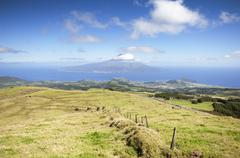 Landscape in Faial, Azores Stock Photos