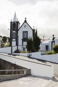 Church in Azores - stock photo