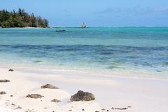 West Coast Mauritius - stock photo