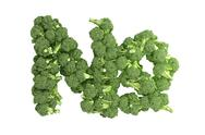 Stock Illustration of Broccoli symbol on white background