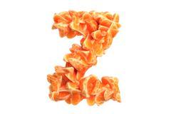 Stock Illustration of Mandarin letter Z on white background