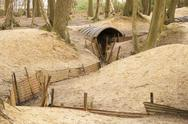 Stock Photo of trenches flanders fields ypres great world war one