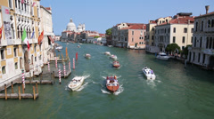 Venice Grand Canal 01 - stock footage