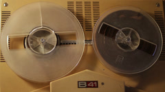 Old Tape Recorder - 4 shots Stock Footage