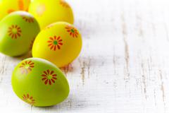 Stock Photo of easter eggs