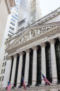 Stock Photo of New York Stock Exchange Building, Manhattan