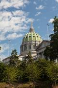 Stock Photo of Pennsylvania State House & Capitol Building, Harrisburg