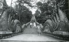 Stock Photo of Dragon steps, Thailand