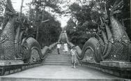 Dragon steps, Thailand Stock Photos