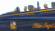 Stock Video Footage of U.S. Navy Blue Angels visit MCAS Miramar