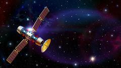 Satellite Stock Illustration