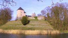 Gaasbeek Castle. Stock Footage