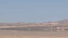 An F-15 lands during Red Flag 14-2 Mar 12, 2014  Stock Footage