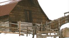 Barn Village Steamboat Springs Stock Footage