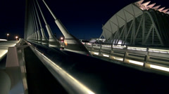 The City of Arts and Sciences,Valencia,Spain,by Santiago Calatrava Stock Footage