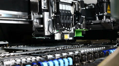 Electronical Machines PCB 2 Stock Footage