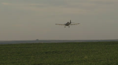 Flying Away and Crop Dusting - stock footage