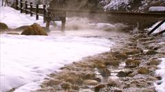 Black Sulphur Spring Steamboat Stock Footage