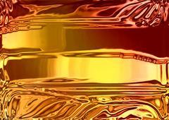 Gold Butter Stock Illustration