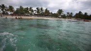 Stock Video Footage of boat trip in the Caribbean
