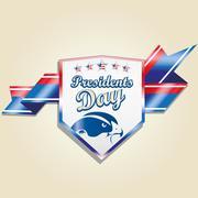 President's day icon designs Stock Illustration