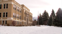 Court House Steamboat Springs Stock Footage