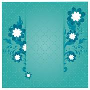 Beautiful flower backgrounds Stock Illustration