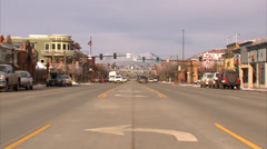 Main Street Steamboat Springs Stock Footage