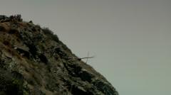 California Condor Pacific Coast Highway Stock Footage