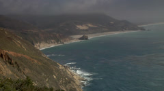 California Coast Line, Big Sur Stock Footage