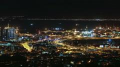Kapkaupunki Kaupunki time-lapse Arkistovideo