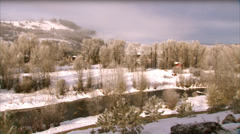 Yampa Valley Steamboat Springs Stock Footage
