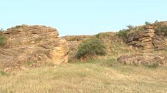 Giant Rocks Stock Footage
