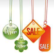 Sales icon illustration Stock Illustration