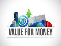 Stock Illustration of value for money business illustration illustration
