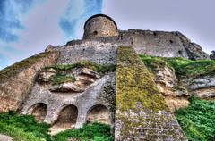 Old fortress in town bilhorod-dnistrovski Stock Photos