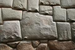 Stock Photo of inca wall