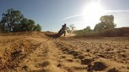 Stock Video Footage of MOTOCROSS RACER EXTREME BLASTING BY CAMERA ON MOTORCYCLE IN HIGH DEFINITION HD
