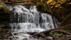 Wagner Falls Loop Stock Footage
